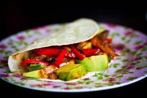 Cucumber Dill Fish Tacos