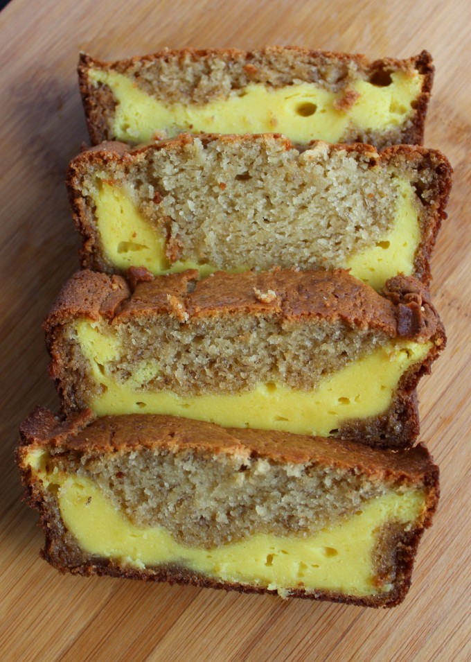 Banana Bread with Cream Cheese Filling_Simply Savory