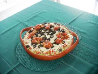The Three Amigos Layered Dip_Simply Savory Gourmet
